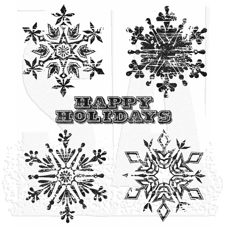 Weathered Winter Stamp Set