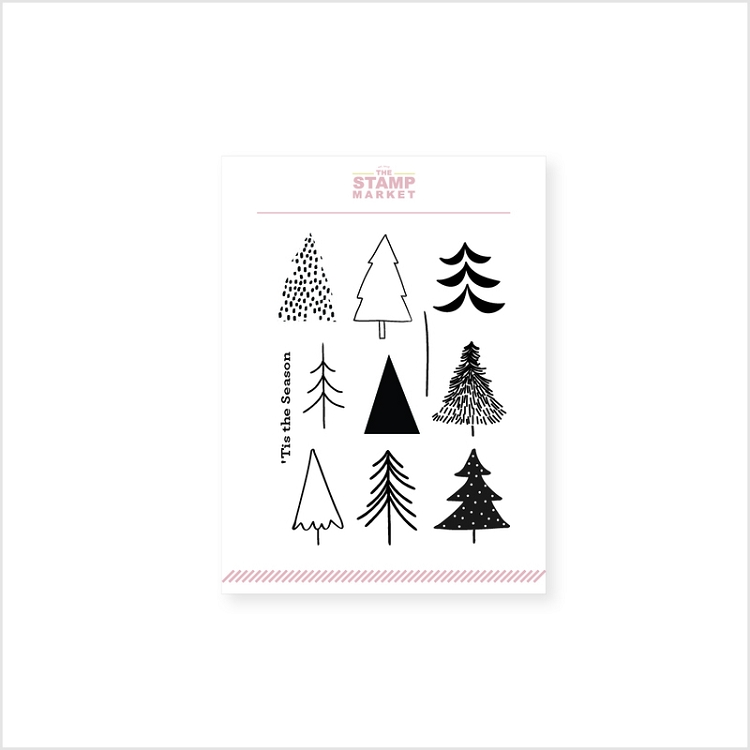 Tiny Trees Stamp Set
