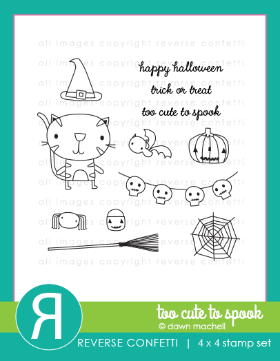 Too Cute To Spook Stamp Set