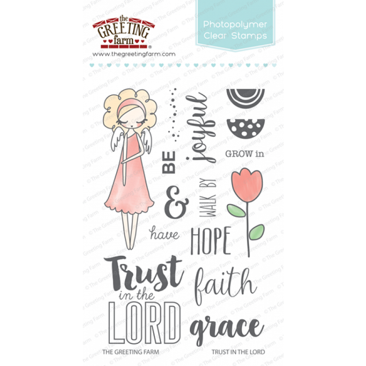 Trust in the Lord Stamp Set