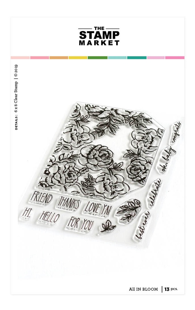 All In Bloom Stamp Set