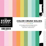 Color Crush Solids 6x6 Paper Pad