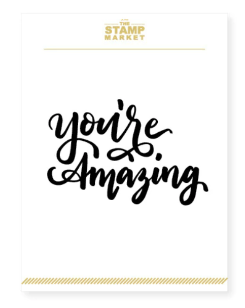 You're Amazing Stamp Set