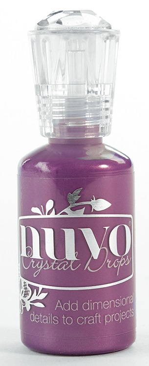 Nuvo Crystal Drops Violet Galaxy