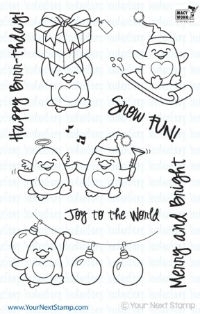 Waddles - Snow Fun! Stamp Set