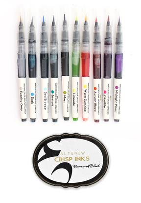 Watercolor Brush Marker Basics Bundle