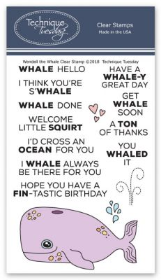 Wendell the Whale Stamp Set