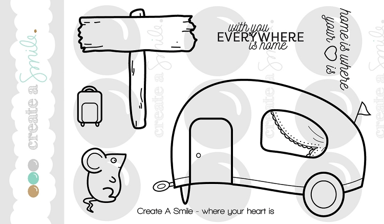 Where Your Heart Is Stamp Set
