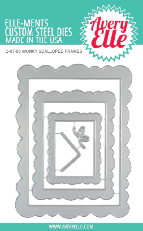 Wonky Scalloped Frames Elle-ments