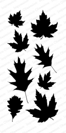 Fall Leaves Stamp Set
