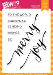 Hand Lettered Holiday Stamp Set