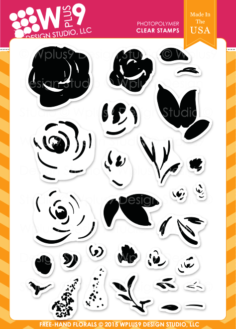 Freehand Florals Stamp Set