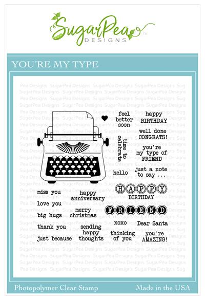 You're My Type Stamp Set