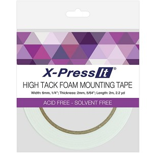 High Tack Foam Mounting Tape 6mm