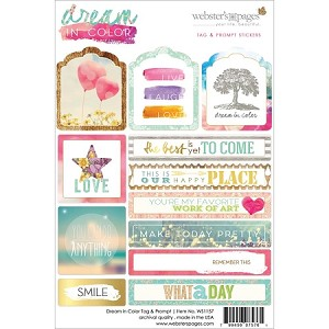 Dream in Color Tags & Prompts Stickers