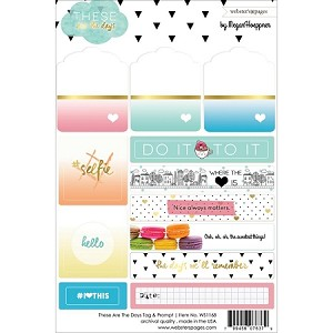 These are the Days Tags & Prompts Stickers