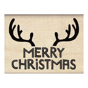 Christmas Antlers Stamp