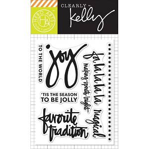 Kelly's Fa La La La La Stamp Set