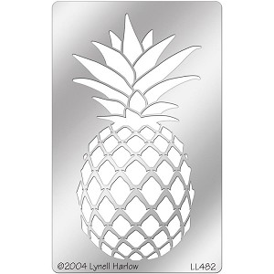 Large Pineapple Metal Stencil