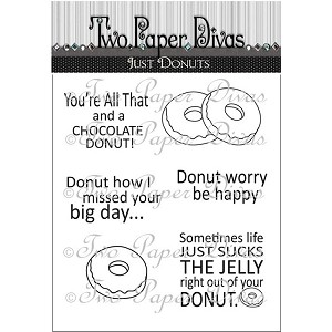 Just Donuts Stamp Set