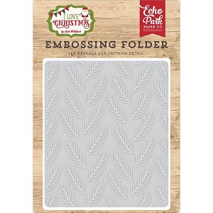 Pine Boughs Embossing Folder