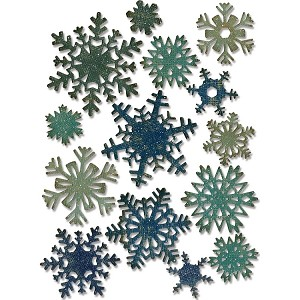 Mini Paper Snowflakes Thinlits Dies