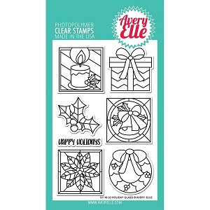 Holiday Glass Stamp Set