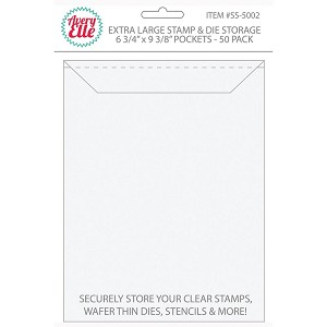 Extra Large Stamp & Die Storage Pockets