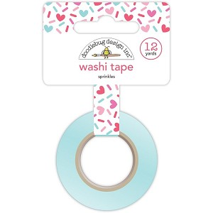 Cream & Sugar Sprinkles Washi Tape