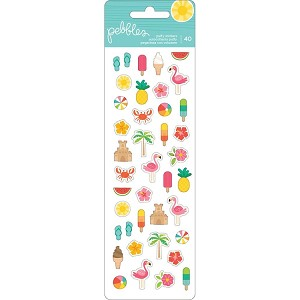 Sunshiny Days Puffy Stickers