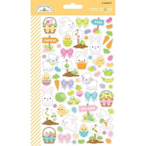 Hoppy Easter Mini Icons Stickers