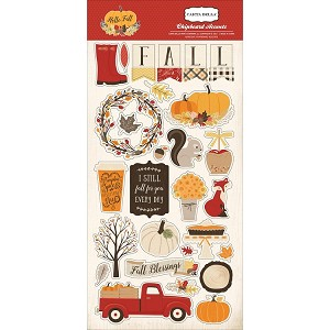 Hello Fall Chipboard Accents