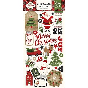 Perfect Christmas Chipboard Accents