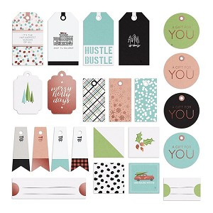 Holiday Hustle Tags & Labels