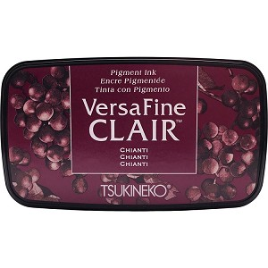 Versafine Clair Ink Pad Chianti