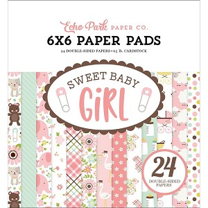 Sweet Baby Girl 6x6 Paper Pad