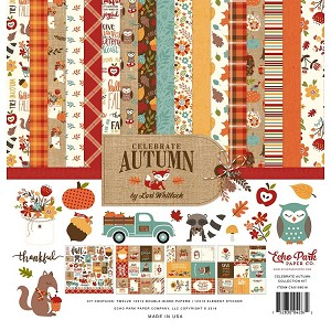 Celebrate Autumn 12x12 Collection Kit