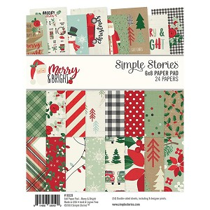 Merry & Bright 6x8 Paper Pad