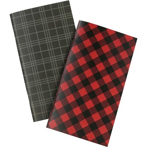 Red Buffalo Plaid Travlers Notebook Weekly Calendar Insert