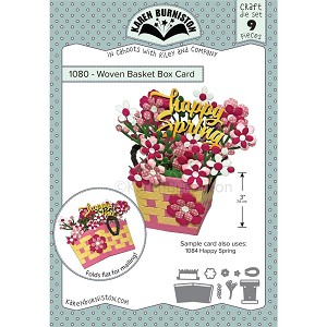 Woven Basket Box Card Die