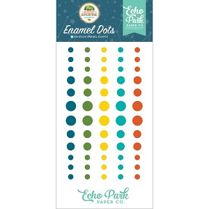 Summer Adventure Enamel Dots