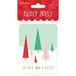 Holly Jolly Journaling Cards