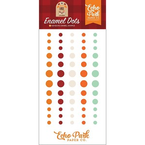 My Favorite Fall Enamel Dots