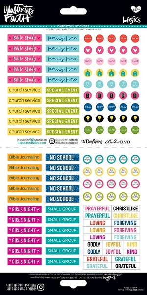 Planner Pieces Stickers
