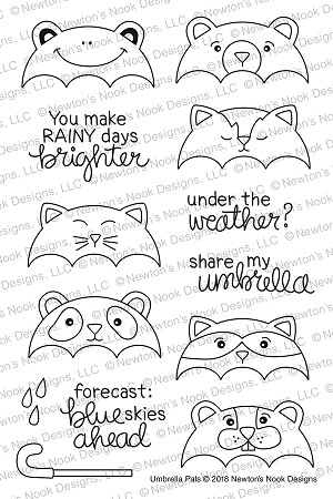 Umbrella Pals Stamp Set