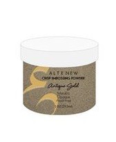 Antique Gold Crisp Embossing Powder