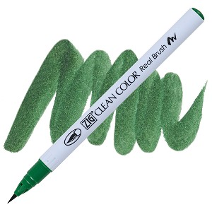 Clean Color Real Brush Marker Deep Green
