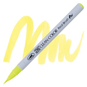 Clean Color Real Brush Marker Flourescent Yellow