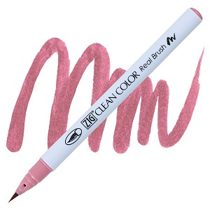 Clean Color Real Brush Marker Pale Rose
