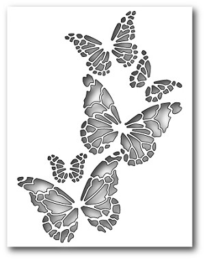 Reverse Butterfly Collage Dies